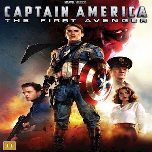 Image of Captain America The First Avenger DVD (8717418414146)