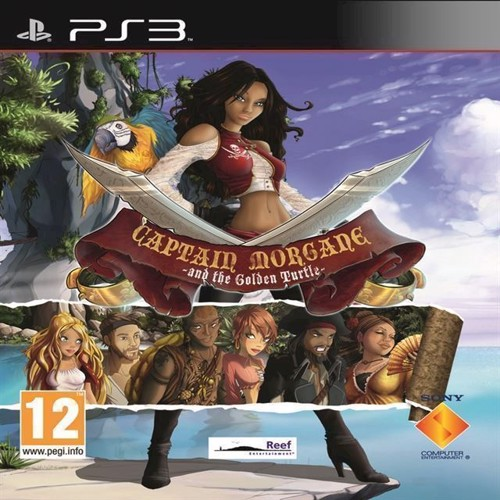 Image of Captain Morgane and the Golden Turtle Move Compatible - PS3 (5060112430626)