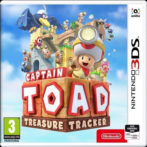 Image of Captain Toad Treasure Tracker - Nintendo 3Ds