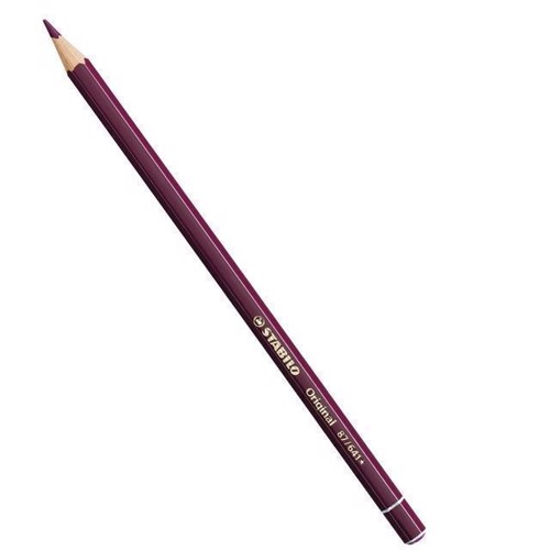 Image of Caput Mortuum Violet Stabilo Original blyant medium