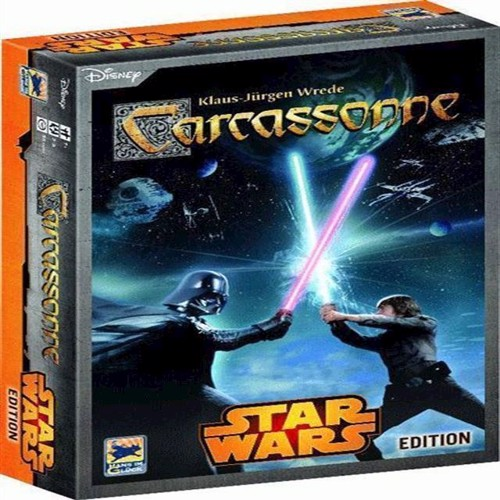 Image of Spil, Carcassonne - Star Wars