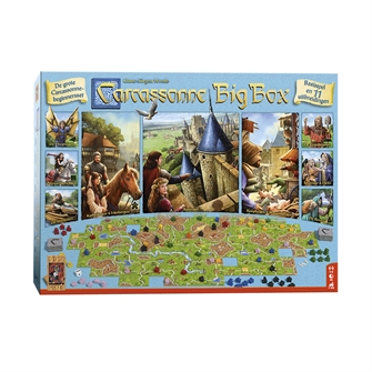 Image of   Carcassonne Big Box 2