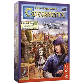 Image of   Carcassonne Count, King and Consort Table Games