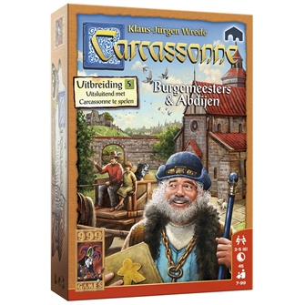 Image of   Carcassonne Mayors and Abbeys Board Games