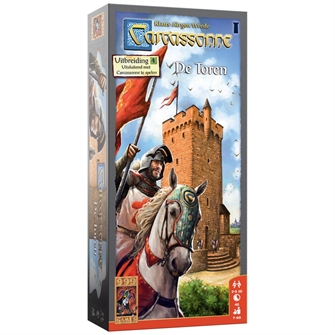 Image of   Carcassonne The Tower Board Game