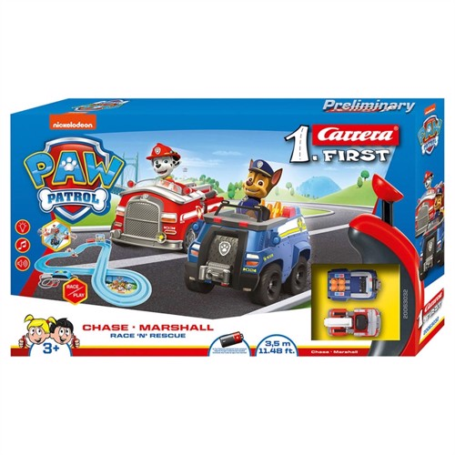Image of Carrera First Racerbane Paw Patrol Race Rescue