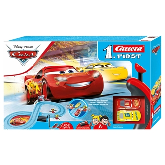 Image of Carrera First Race Track - Cars Friends Race (4007486630376)