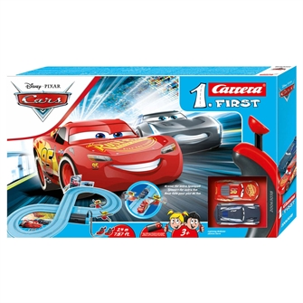 Image of Carrera First Race Track - Cars Power Duel (4007486630383)