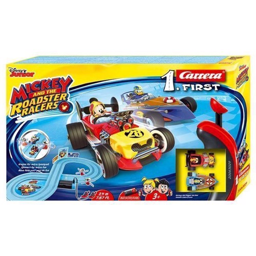 Image of Carrera First Race Track Mickey and the Roadster Racers (4007486630291)