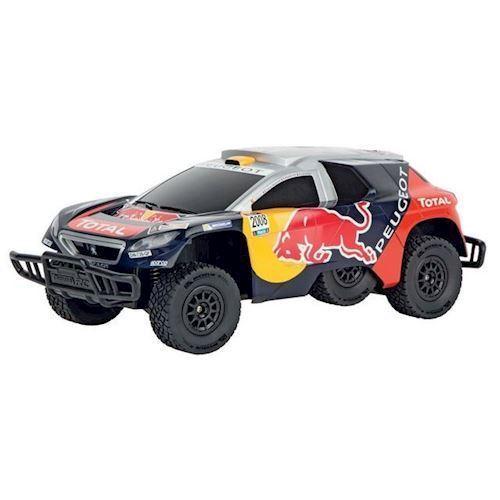 Image of Carrera fjernstyret Peugeot 08 DKR 16 Red Bull (9003150621065)
