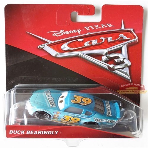 Image of   Cars 3 bil Die Cast, Buck Bearingly (DXV68)