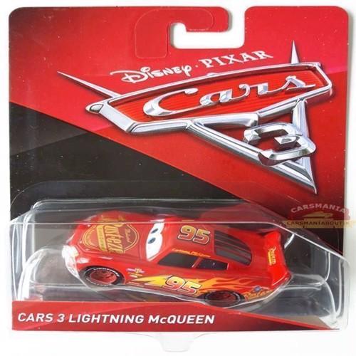 Image of Cars 3 bil Die Cast, Lynet McQueen (DXV32) (0887961403428)