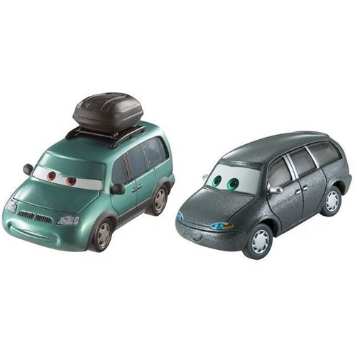 Image of   Cars 3 Die Cast 2-Pack, Minny & Van
