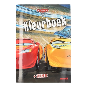 Image of   Cars 3 Coloring Book with Stickers