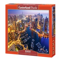 Castorland - Puzzle 1000 Pieces - Dubai at Night