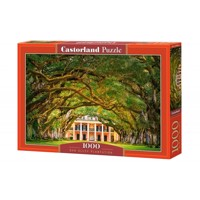 Castorland - Puzzle 1000 Pieces - Oak Alley Plantation