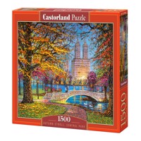 Castorland - Puzzle 1500 Pieces - Autumn Stroll in Central Park, NY (C-151844)