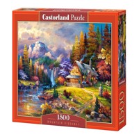 Castorland - Puzzle 1500 Pieces - Mountain Hideaway