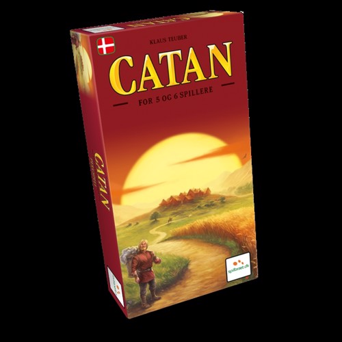 Image of Catan - 5-6 Player Expansion (DK-NO) (LPFI429) (6430018274294)