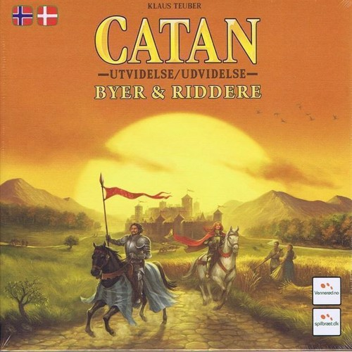 Image of Catan Cities Knights Dkno