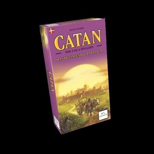 Image of Catan Handelsmnd Barbarer 56 Spille Udvidelse