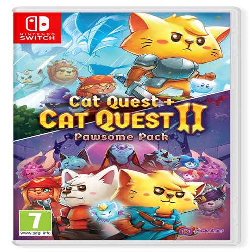 Image of Cat Quest + Cat Quest II: Pawsome Pack - Nintendo Switch (5060690791065)