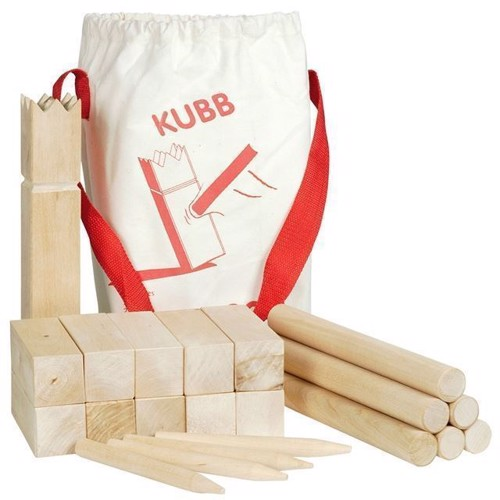 Image of Kubb, vikinge spil