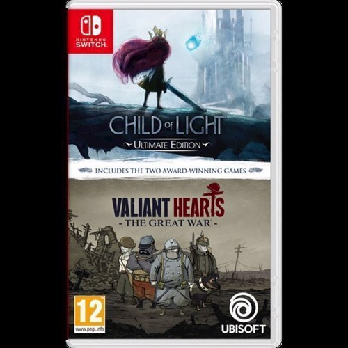 Image of Child Of Light And Valiant Hearts Double Pack - Nintendo Switch