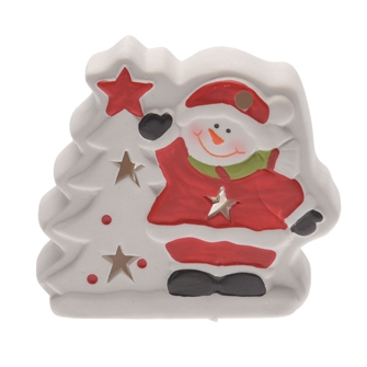 Image of Christmas figure with LED light (8719202256321)
