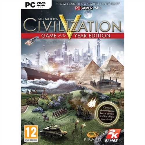 Image of Civilization v5 game of the year edition PC (5390102520403)