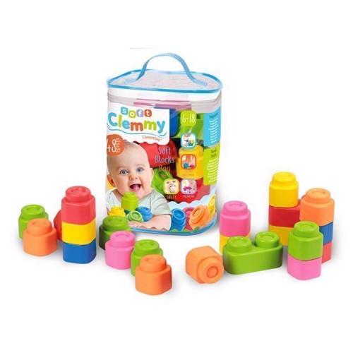 Image of Clementoni - Soft Clemmy Samle Brikker til Baby