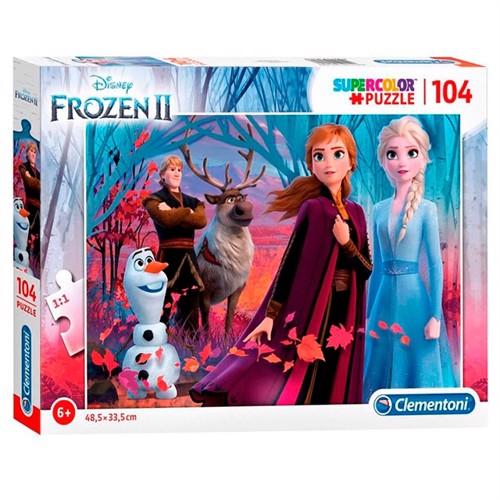 Image of Clementoni puslespil Disney Frozen 2 104 dele