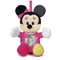 Clementoni Minnie Mouse Plush Toy with Music and Light