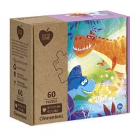 Clementoni Play for Future Puzzle - Dinos, 60st.