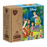 Clementoni Play for Future Puzzle - Disney Classics, 2x20st.