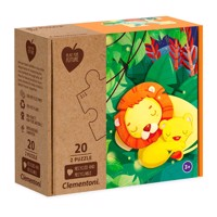 Clementoni Play for Future Puzzle - Jungle, 2x20st.