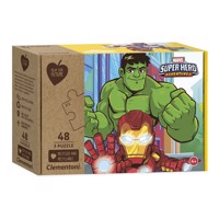 Clementoni Play for Future Puzzle - Superheroes, 3x48pcs.