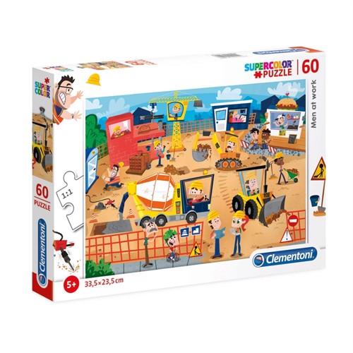 Image of Clementoni Puzzle Construction Site, 60pcs. (8005125269907)