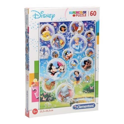Image of Clementoni puslespil Disney Classics, 60 brikker
