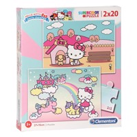Clementoni Puzzle Hello Kitty, 2x20st.