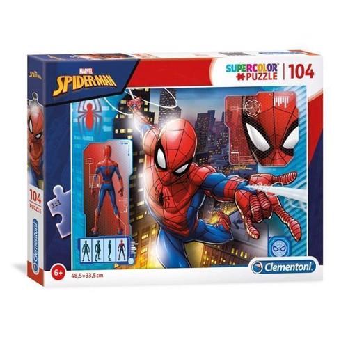 Image of Clementoni puslespil Spiderman, 104 brikker