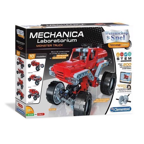 Image of Clementoni Science Mechanics Monster Trucks