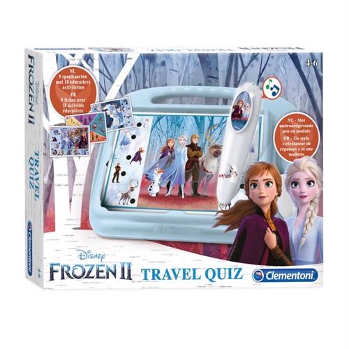 Image of Clementoni Rejse Quiz Frozen 2