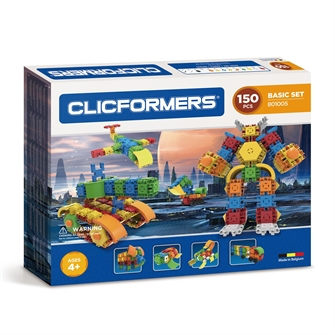 Image of Clicformers Basic set, 150dlg. (8809465532727)