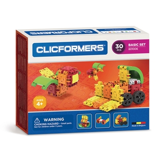 Image of Clicformers Basic set, 30 pcs. (8809465533519)