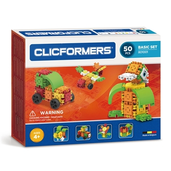Image of Clicformers Basic set, 50dlg. (8809465532680)