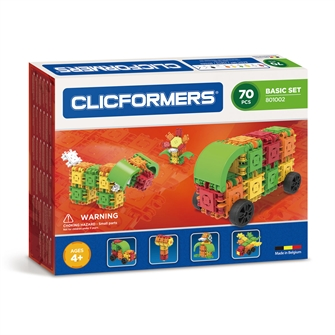 Image of Clicformers Basic set, 70dlg. (8809465532697)