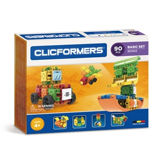 Image of Clicformers Basic set, 90dlg. (8809465532703)