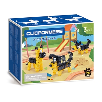 Image of Clicformers Brace Friends Set, 74 pcs. (8809465535759)