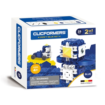 Image of Clicformers Craft Set Blue, 25 pcs. (8809465535681)